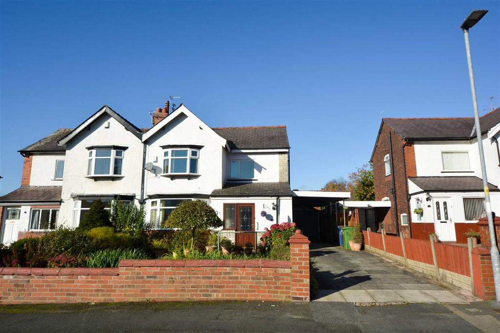 3 Bedrooms Semi Detached House for sale in Milton Grove, Whitley, Wigan, WN1