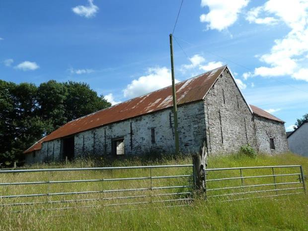 Land Commercial for sale in Barn At Abercrai, Trecastle, Brecon, Powys