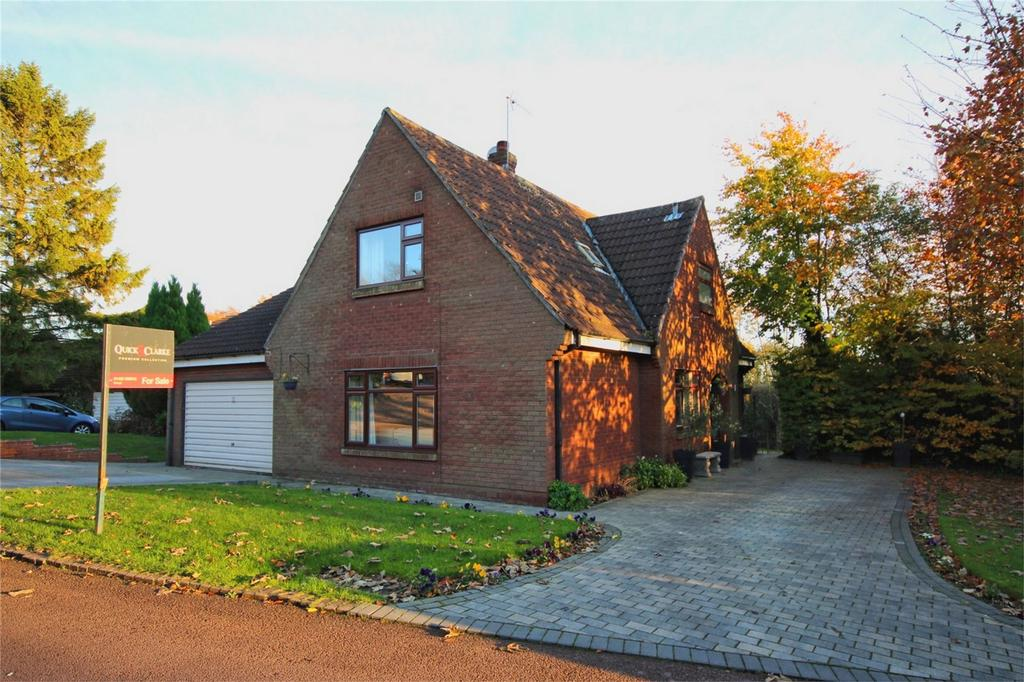 4 Bedrooms Detached Bungalow for sale in Mount View, North Ferriby, East Riding of Yorkshire