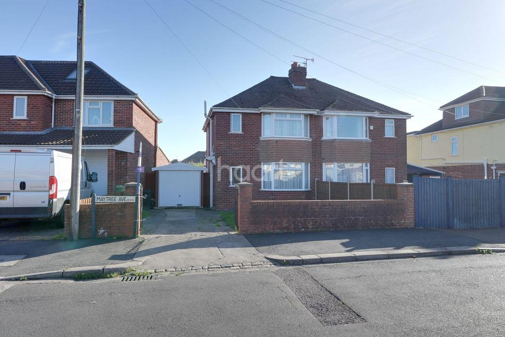 3 Bedrooms Semi Detached House for sale in Maytree Avenue, Headley Park, Bristol