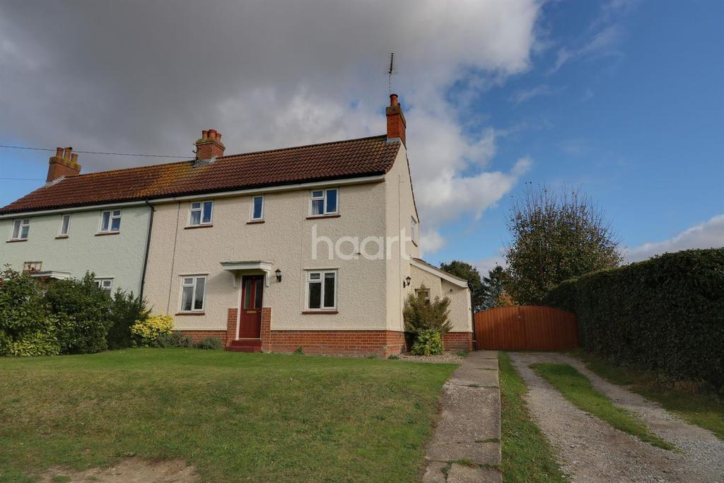 3 Bedrooms Semi Detached House for sale in Park Lane Charsfield