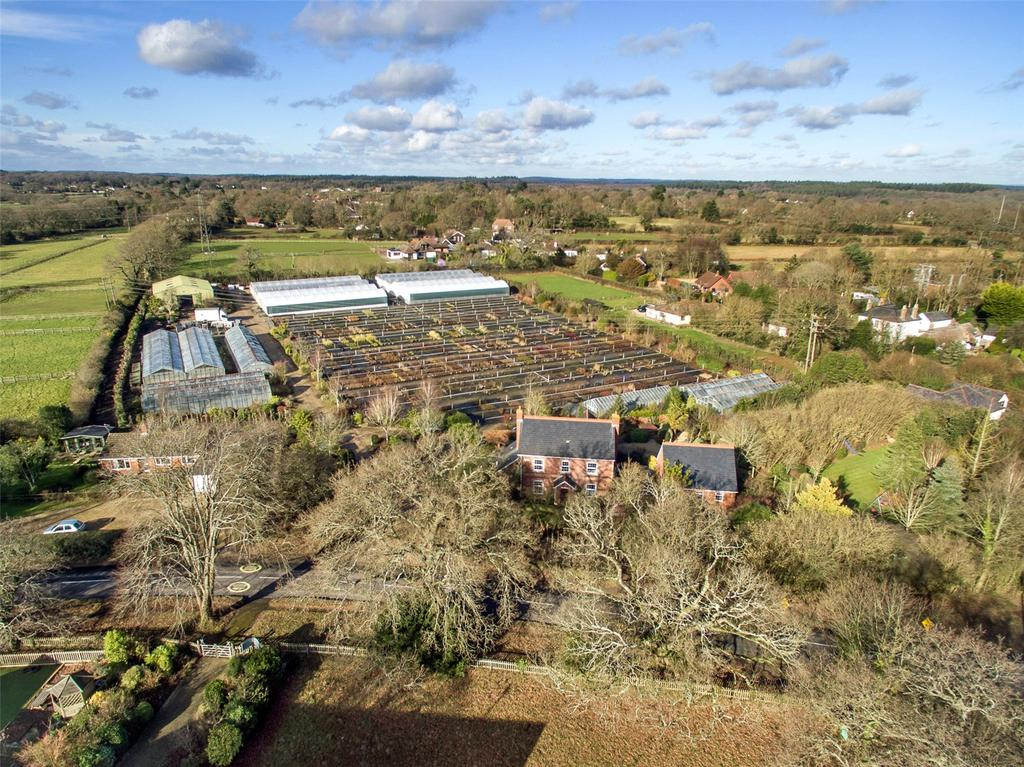 5 Bedrooms Detached House for sale in Sway Road, Tiptoe, Lymington, Hampshire, SO41