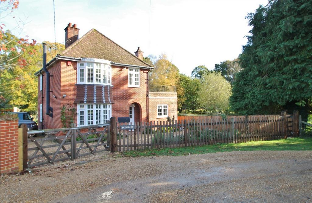 3 Bedrooms Detached House for sale in Minstead, Hampshire