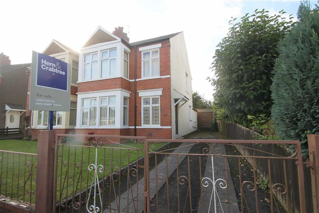 3 Bedrooms Semi Detached House for sale in Crystal Avenue, Cardiff
