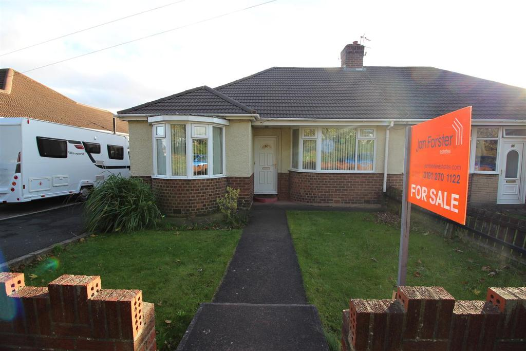 3 Bedrooms Semi Detached Bungalow for sale in St Albans Crescent, Newcastle Upon Tyne