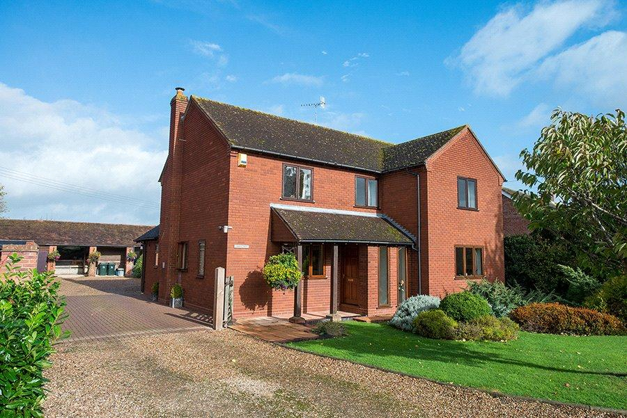 5 Bedrooms Detached House for sale in Naunton, Upton-upon-Severn, Worcester, Worcestershire, WR8