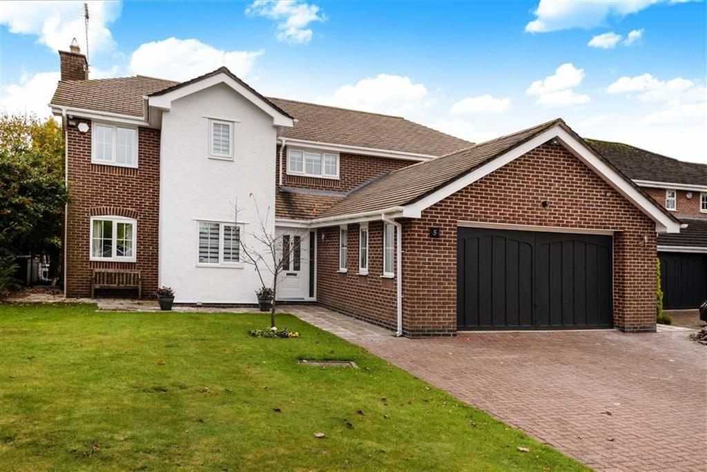 4 Bedrooms Detached House for sale in Prestwick Close, Tytherington, Macclesfield