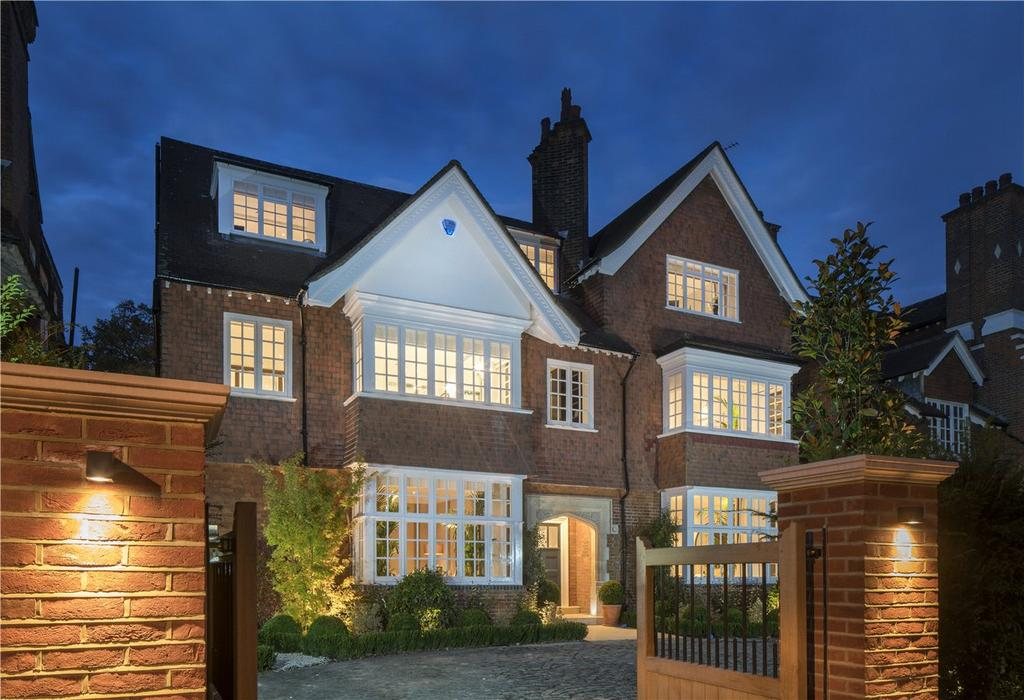 6 Bedrooms Detached House for rent in Wadham Gardens, Primrose Hill, London, NW3