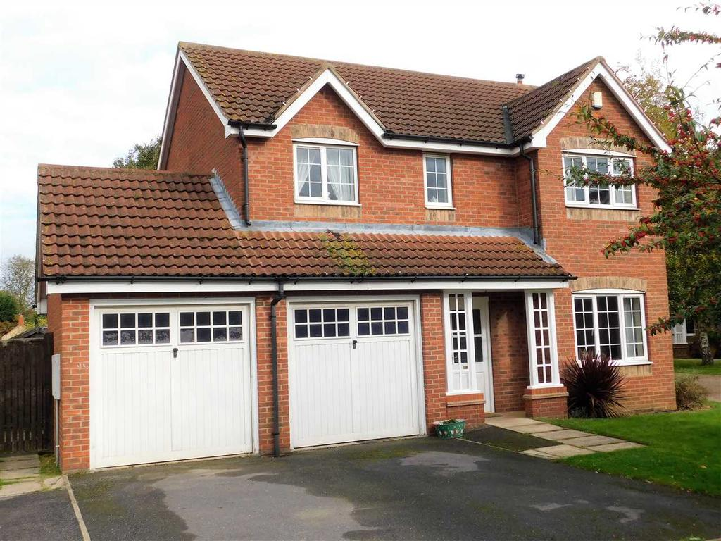 4 Bedrooms Detached House for sale in CHAPEL COURT, HIBALDSTOW, BRIGG