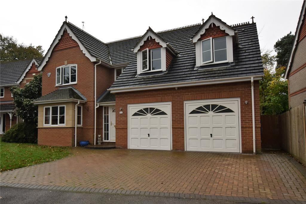 4 Bedrooms Detached House for sale in Alder Glade, Burghfield Common, Berkshire, RG7