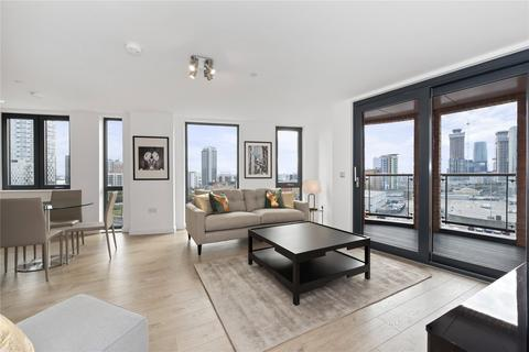 1 bedroom flat to rent - Roosevelt Tower, 18 Williamsburg Plaza, London, E14