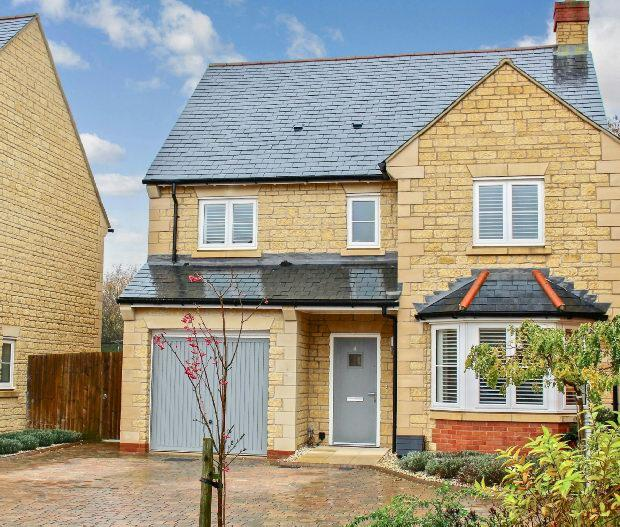 4 Bedrooms Detached House for sale in Artisan Close, MORETON IN MARSH