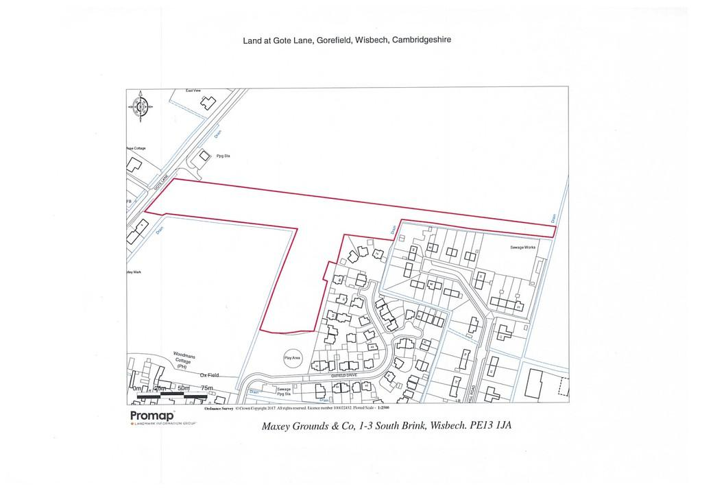 Land Commercial for sale in Land Gote Lane