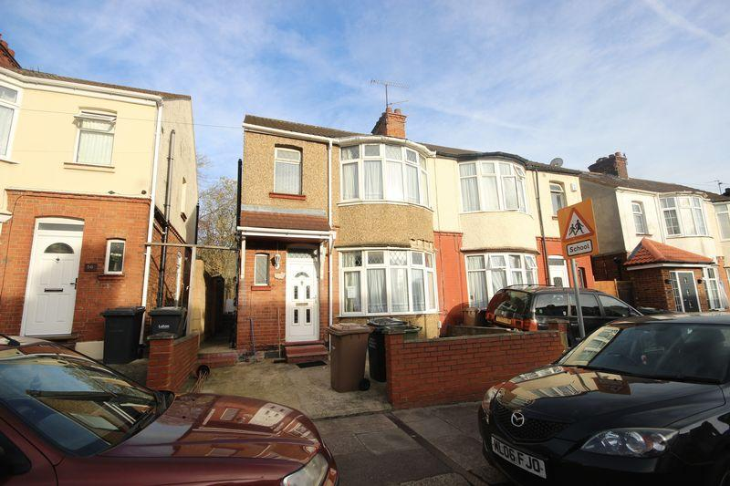 3 Bedrooms End Of Terrace House for sale in Argyll Avenue, Luton