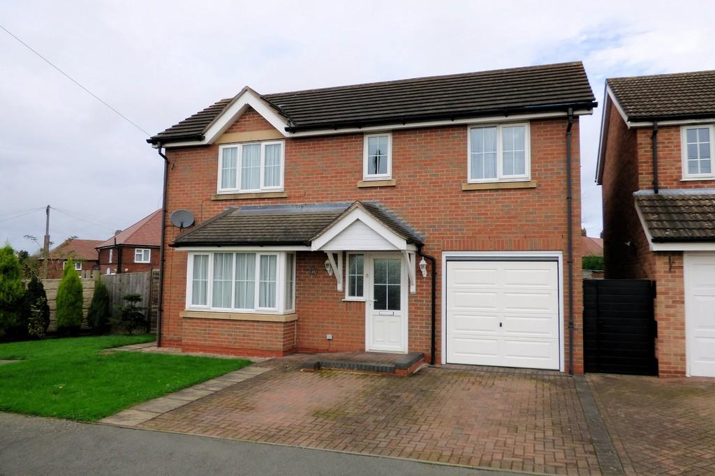 4 Bedrooms Detached House for sale in Churchill Close, Ashby-de-la-Zouch