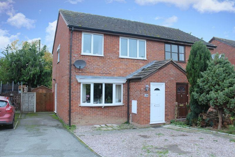 3 Bedrooms Semi Detached House for sale in Orchard Drive, Minsterley, Shrewsbury, SY5 0DG