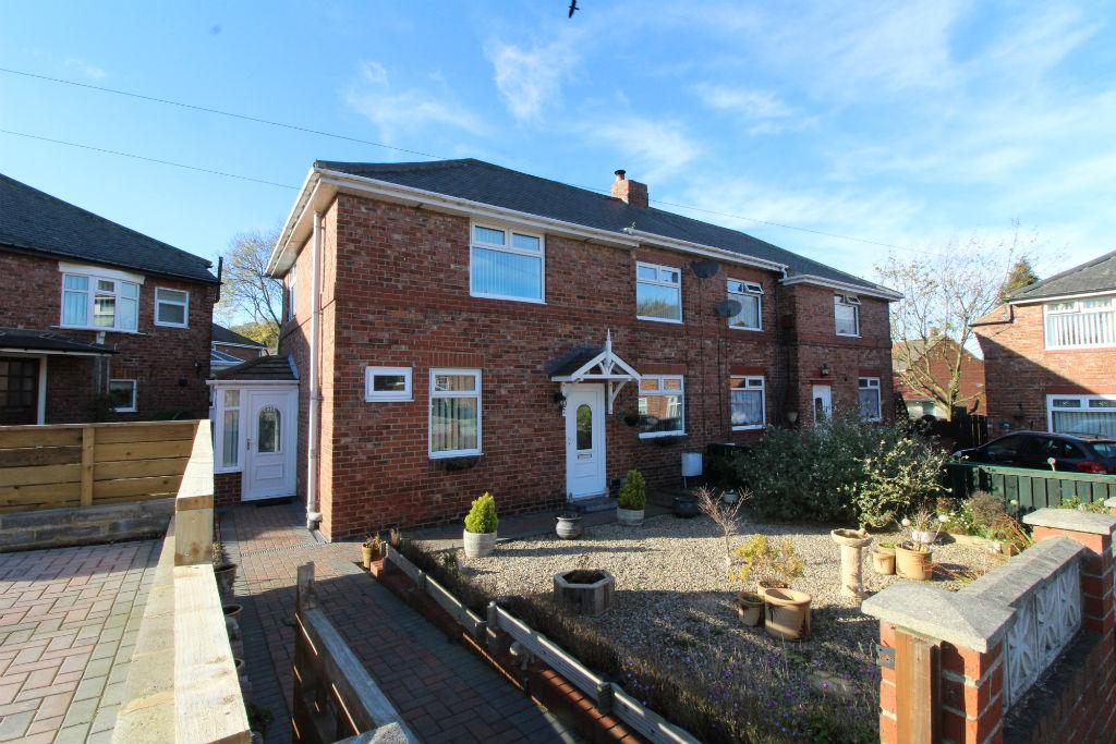 3 Bedrooms Semi Detached House for sale in Tanfield Lea, Stanley DH9