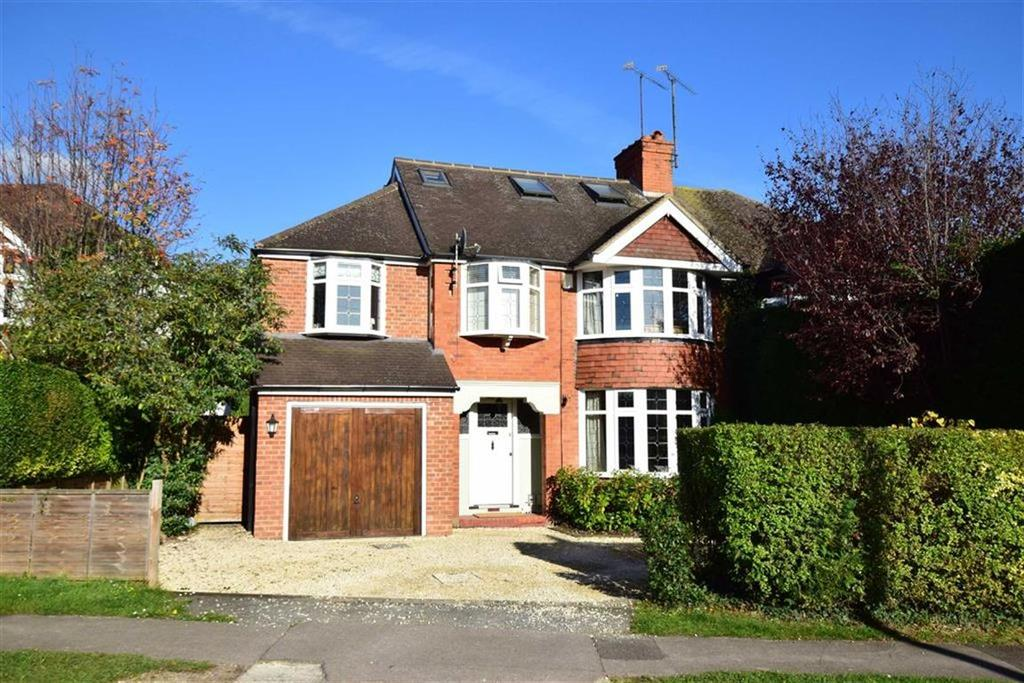 5 Bedrooms Semi Detached House for sale in Woodcote Way, Caversham Heights, Reading