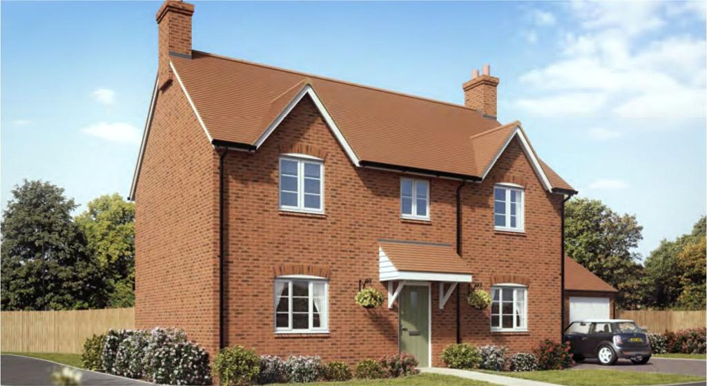 3 Bedrooms Detached House for sale in Tatton, Kineton Mews, Kineton, Warwick, CV35