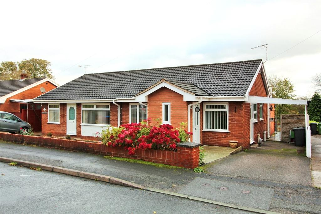2 Bedrooms Semi Detached Bungalow for sale in Hall View, Caego, Wrexham, LL11