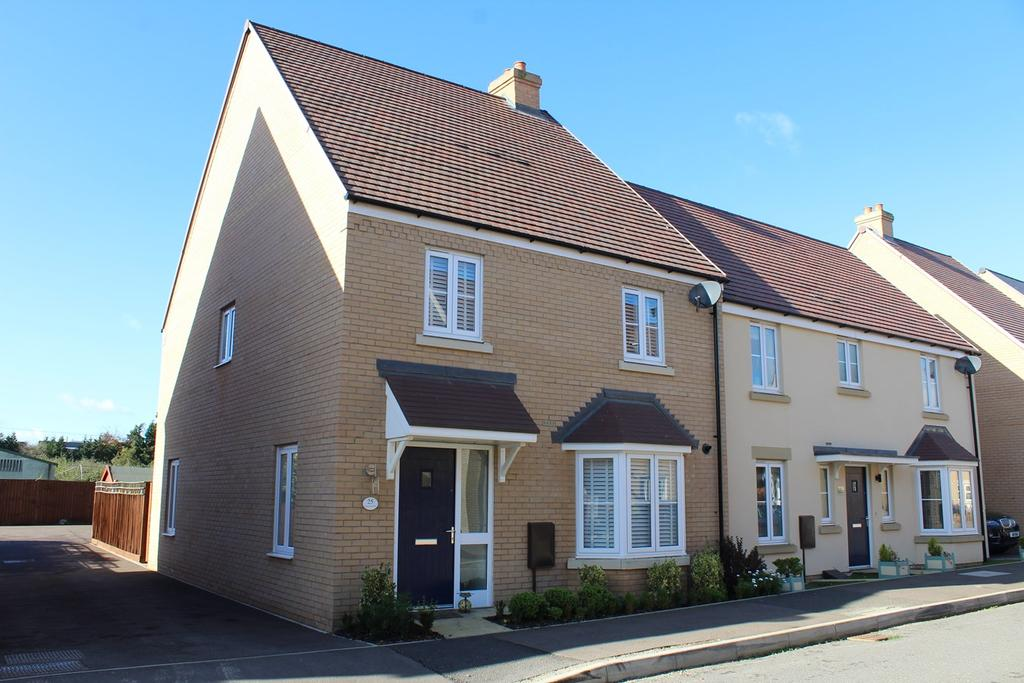 4 Bedrooms Semi Detached House for sale in Rutherford Way, Biggleswade, SG18