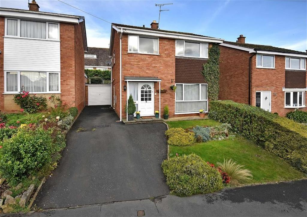 3 Bedrooms Detached House for sale in 11, Stretton Close, High Town, Bridgnorth, Shropshire, WV16