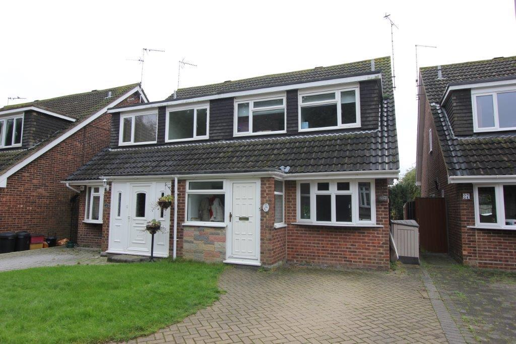 4 Bedrooms Semi Detached House for sale in Priory Close, Pilgrims Hatch, Brentwood