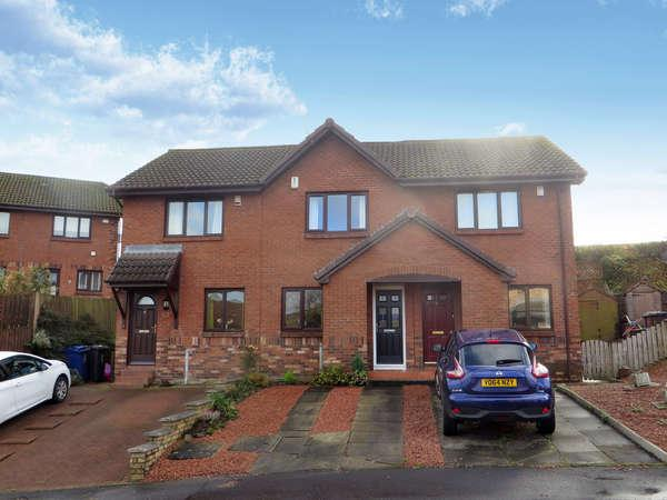 2 Bedrooms Terraced House for sale in 3 Kenmure View, Howwood, Johnstone, PA9 1DR