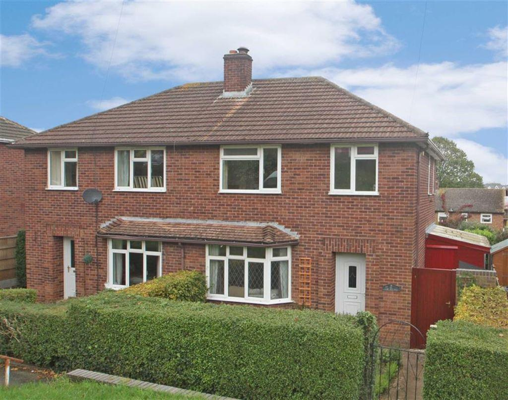 3 Bedrooms Semi Detached House for sale in Shakespeare Road, WHITECROSS, Hereford