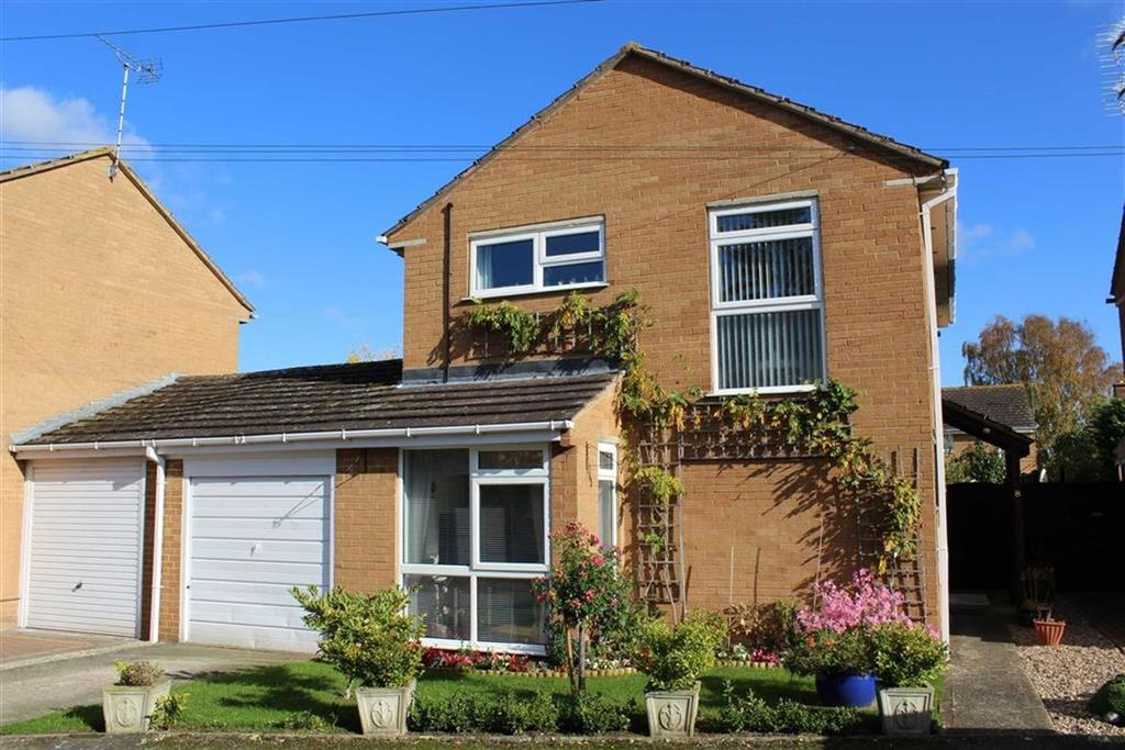 4 Bedrooms Link Detached House for sale in Bricknell Avenue, Bredon, Tewkesbury, Gloucestershire