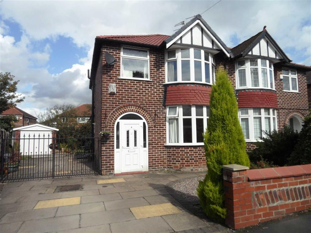 3 Bedrooms Semi Detached House for sale in Greenbank Avenue, Gatley