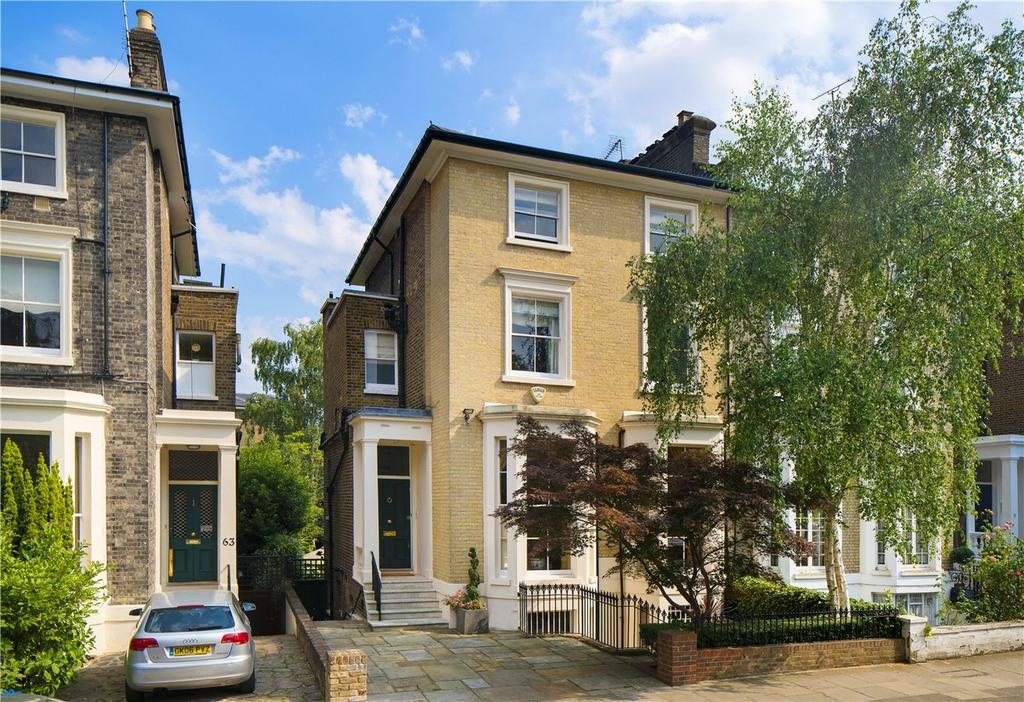 5 Bedrooms Semi Detached House for sale in Clifton Hill, St John's Wood, London, NW8
