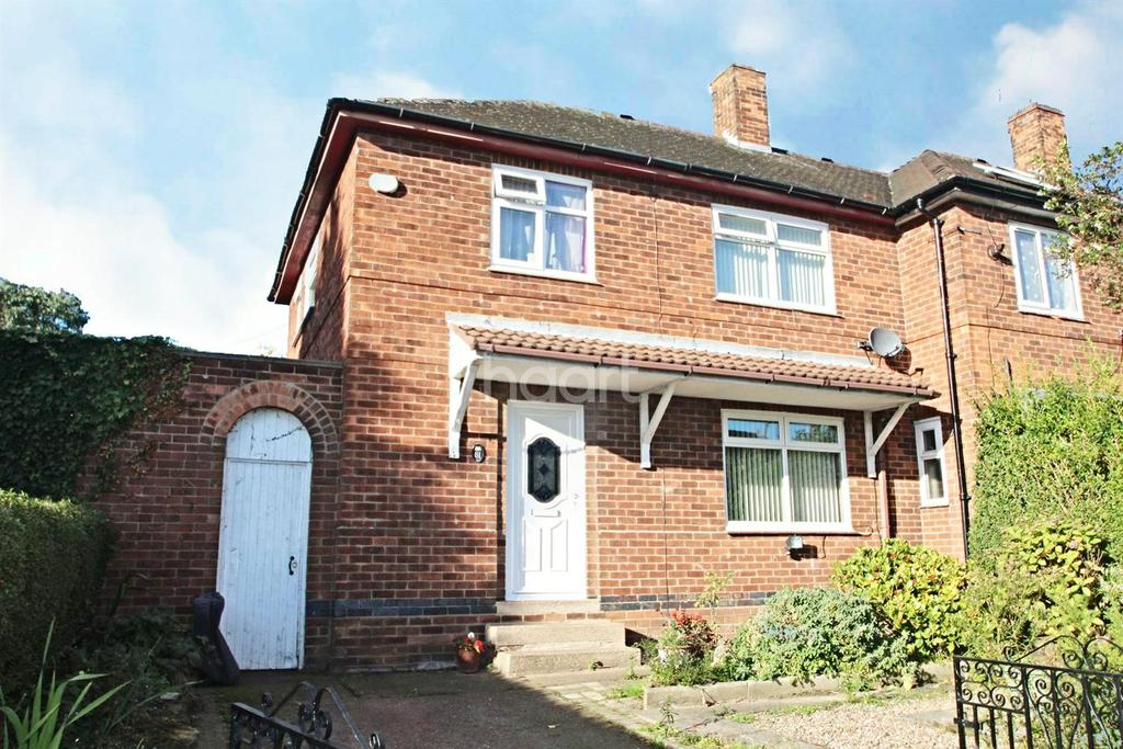 3 Bedrooms Semi Detached House for sale in Arnside Road, Bestwood Park, Nottingham