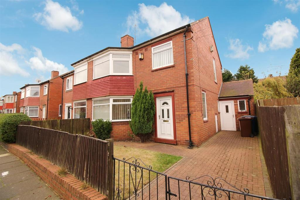 3 Bedrooms Semi Detached House for sale in Whalton Avenue, Newcastle Upon Tyne