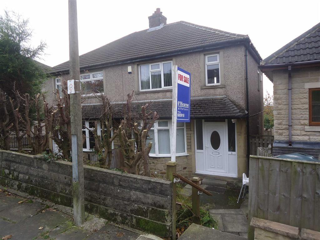 3 Bedrooms Semi Detached House for sale in Brearcliffe Drive, Bradford, West Yorkshire, BD6