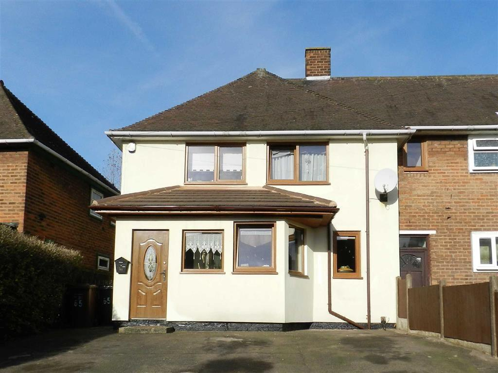 3 Bedrooms End Of Terrace House for sale in Roebuck Road, Walsall