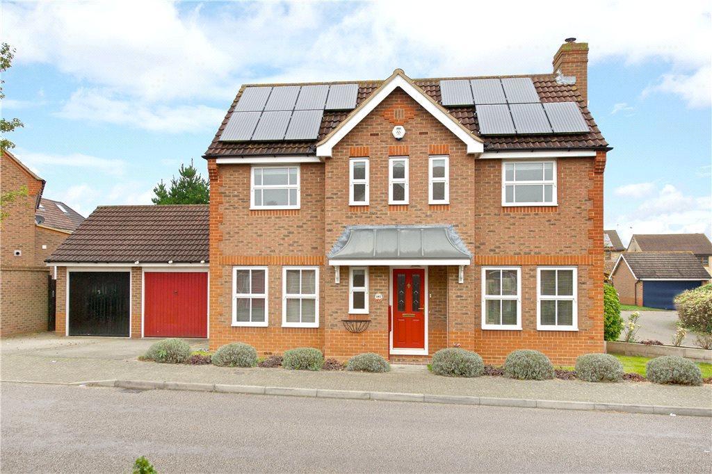 3 Bedrooms Detached House for rent in Carnweather Court, Tattenhoe, Milton Keynes, Buckinghamshire