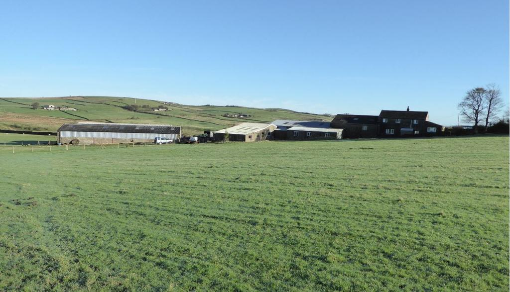 5 Bedrooms Farm Land Commercial for sale in Hollin Raikes Farm, Sandyforth Lane, Cowling, West Yorkshire, BD22 0NB