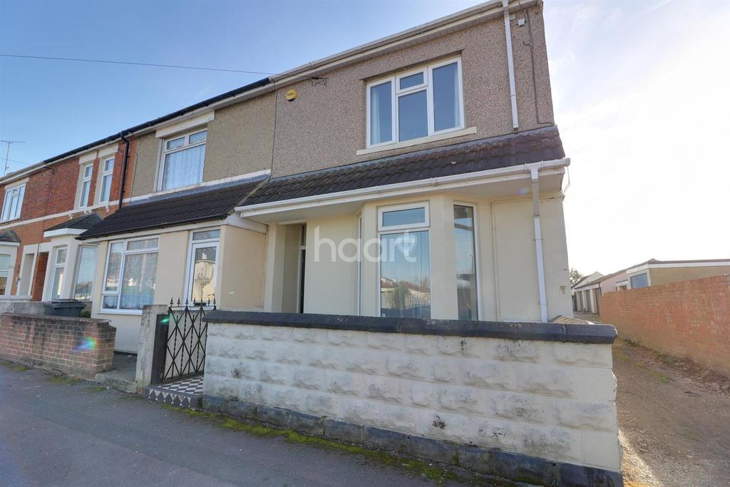 2 Bedrooms End Of Terrace House for sale in Bessemer Road West, Swindon, Wiltshire