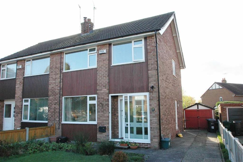 4 Bedrooms Semi Detached House for sale in Clifford Drive, Off Lache Lane, Chester