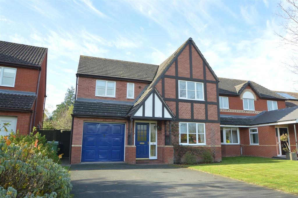 4 Bedrooms Detached House for sale in 4 Florence Close, Bicton Heath, Shrewsbury, SY3 5PD