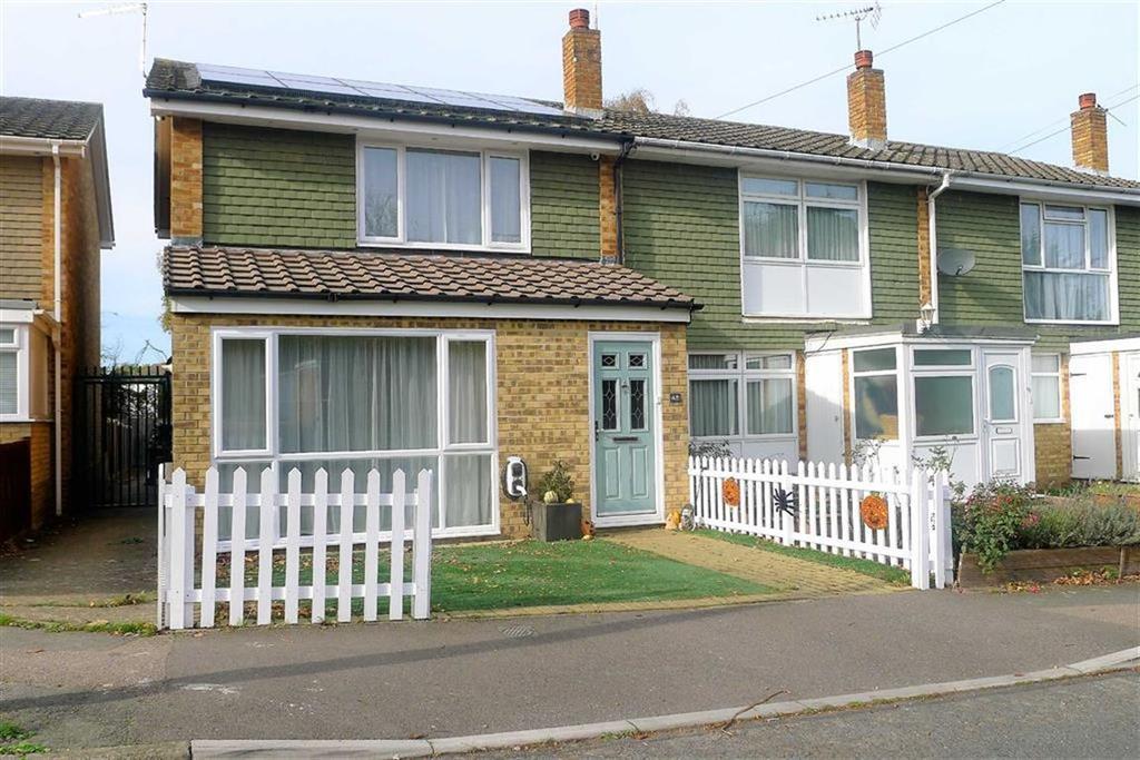 2 Bedrooms End Of Terrace House for sale in Hawbeck Road, Rainham, Kent, ME8