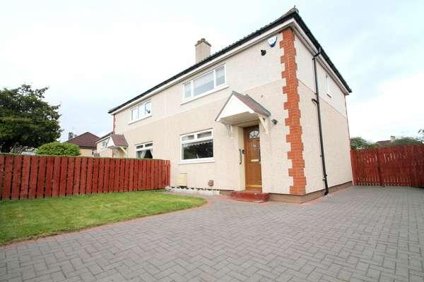 3 Bedrooms Semi-detached Villa House for sale in 86 Hermiston Road, Springboig, Glasgow, G32 0DZ
