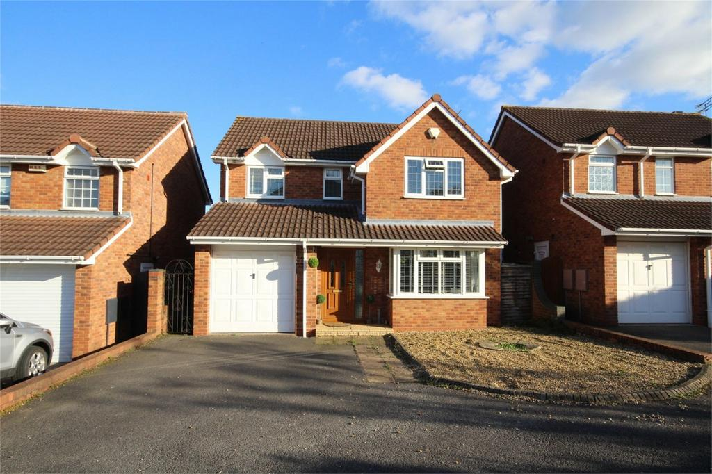 4 Bedrooms Detached House for sale in Woodhall Close, Crowhill, NUNEATON, Warwickshire