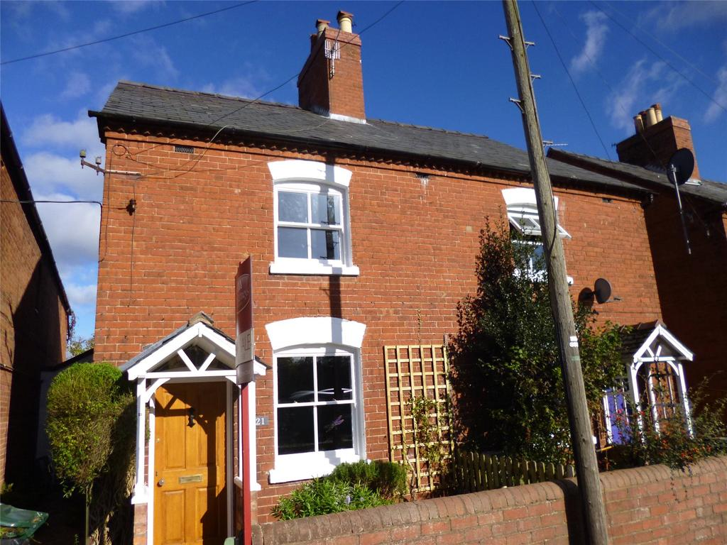 3 Bedrooms Semi Detached House for sale in Sandpits Road, Ludlow, Shropshire