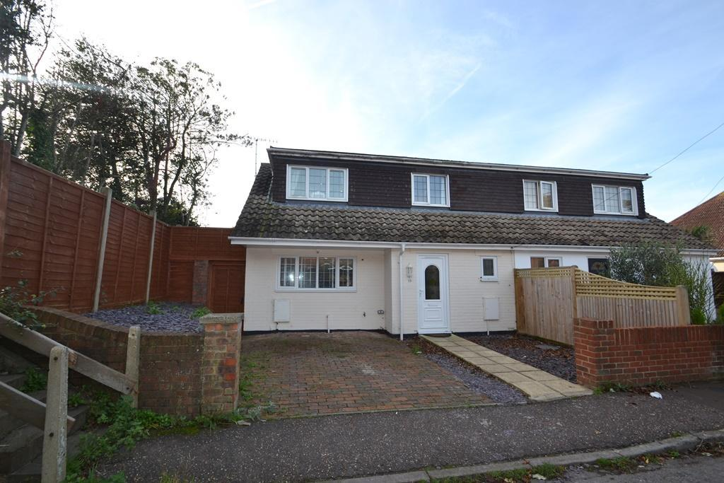 3 Bedrooms Semi Detached House for sale in Brookside Avenue, Rustington, West Sussex, BN16 3LF
