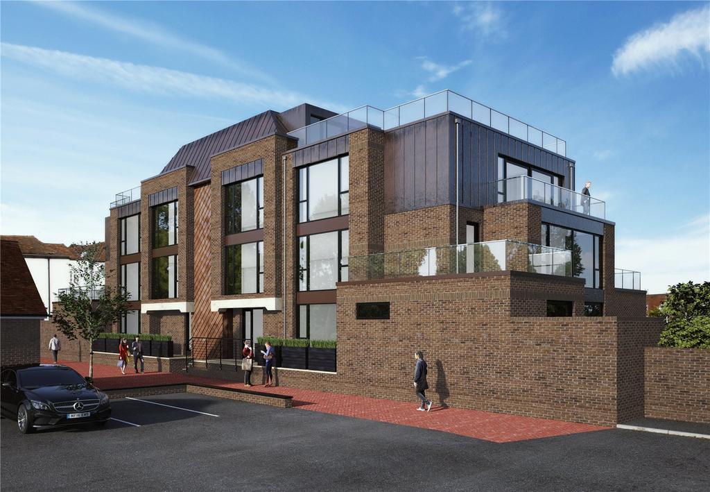 3 Bedrooms Flat for sale in Epicurus House, 1-3 Akehurst Lane, Sevenoaks, Kent, TN13