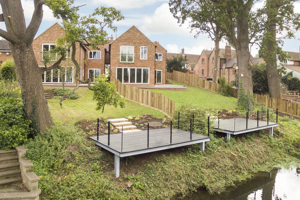 4 Bedrooms Detached House for sale in Island View House, Keytes Lane, Barford