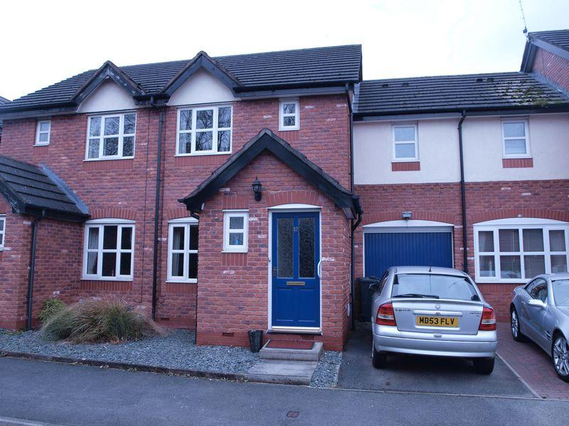 3 Bedrooms Terraced House for sale in Delamere Close, Barnton, Northwich, CW8 4SE