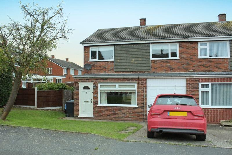 3 Bedrooms Semi Detached House for sale in Glebe Road, Bayston Hill, Shrewsbury, SY3 0PS